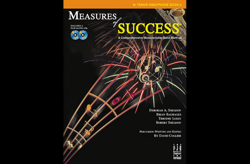 Measures of Success Bb Tenor Saxophone Book 2 (With CD's)