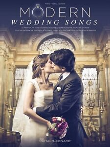 Modern Wedding Songs for Piano, Vocal, Guitar
