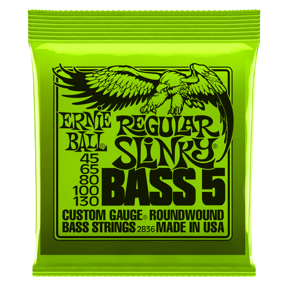 Ernie Ball Regular Slinky Bass 5 Strings