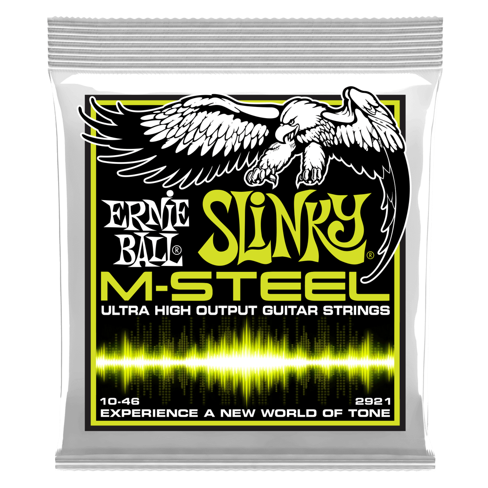 Ernie Ball - REGULAR SLINKY M-STEEL ELECTRIC GUITAR STRINGS - Octave Music Store