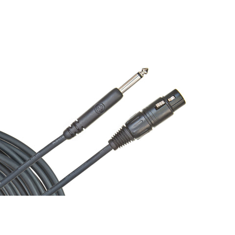 "D'Addario 25' Microphone Cable XLR to 1/4"" - Octave Music Store"