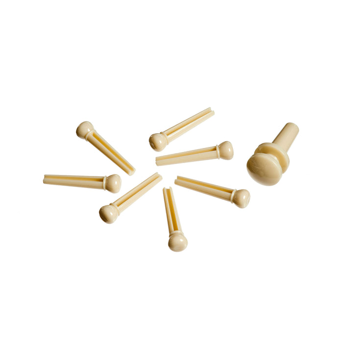 Molded Bridge and End Pins - Octave Music Store - 3