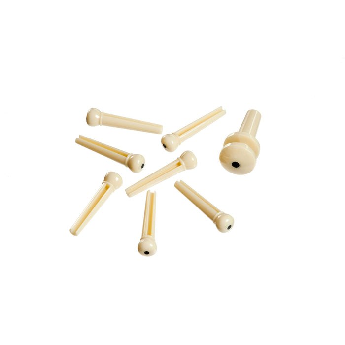 Molded Bridge and End Pins - Octave Music Store - 4