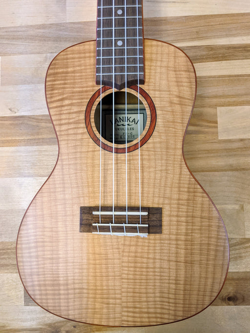 Lanikai Flame Maple Concert Ukulele (Open Box)