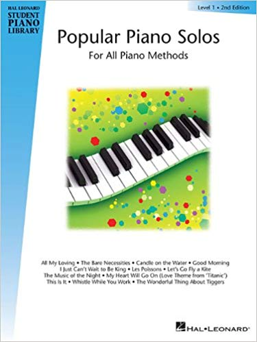 Student Piano Library - Popular Piano Solos Level 1 - 2nd Edition