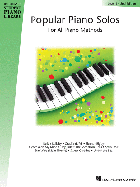 Student Piano Library - Popular Piano Solos Level 4 - 2nd Edition