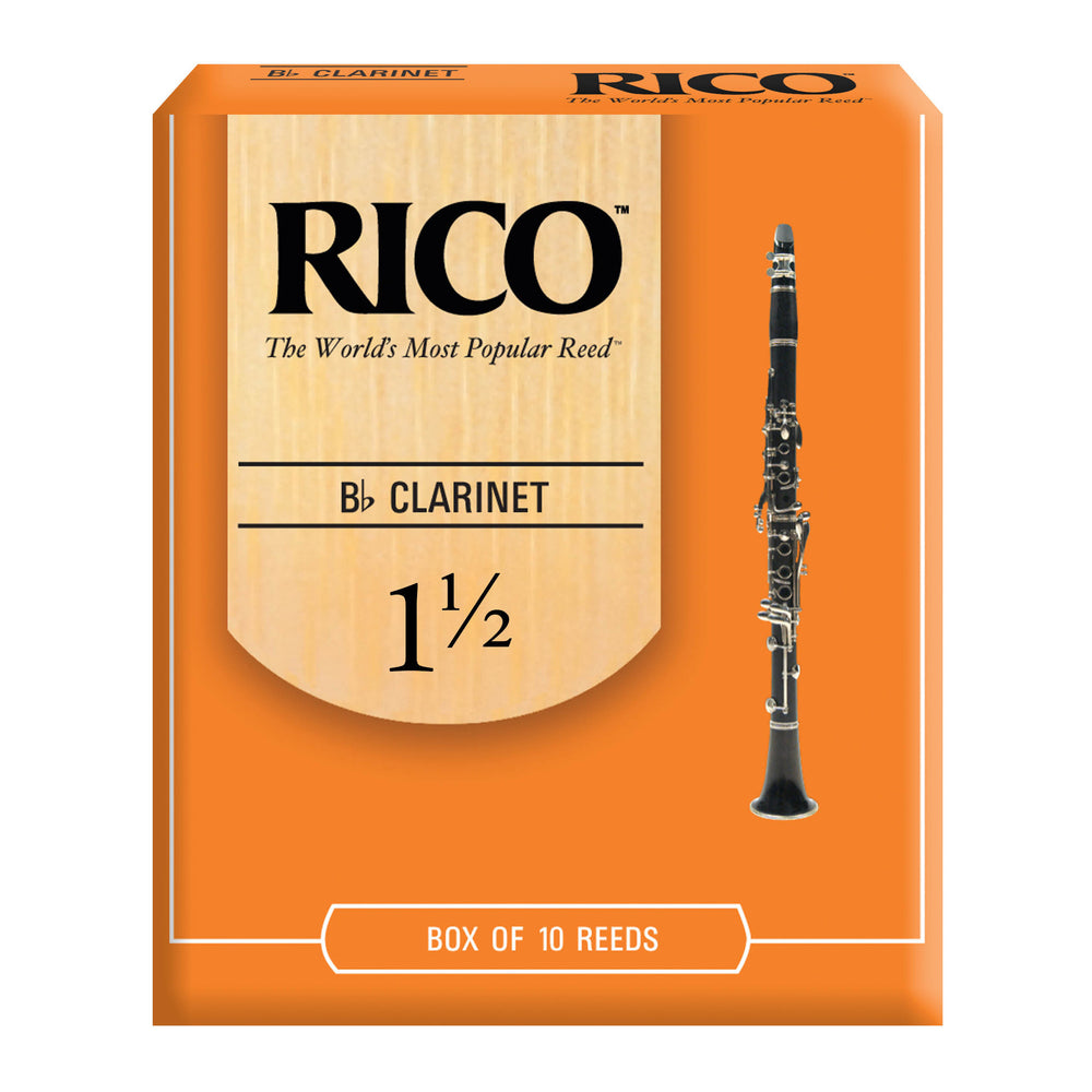 Rico Bb Clarinet Reeds, box of 10 - Octave Music Store - 1