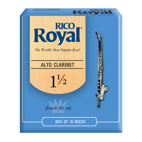 Rico Royal Alto Clarinet Reeds, 10-pack - Octave Music Store - 1