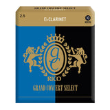 Rico Grand Concert Select Eb Clarinet Reeds, Box of 10 - Octave Music Store - 1