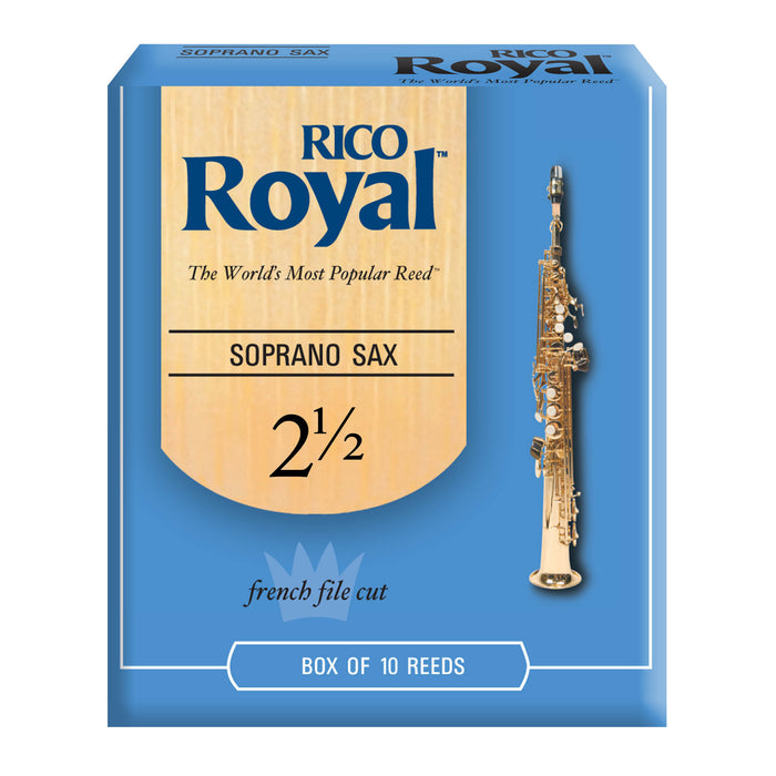 Rico Royal Soprano Saxophone Reeds, 10-pack - Octave Music Store - 4