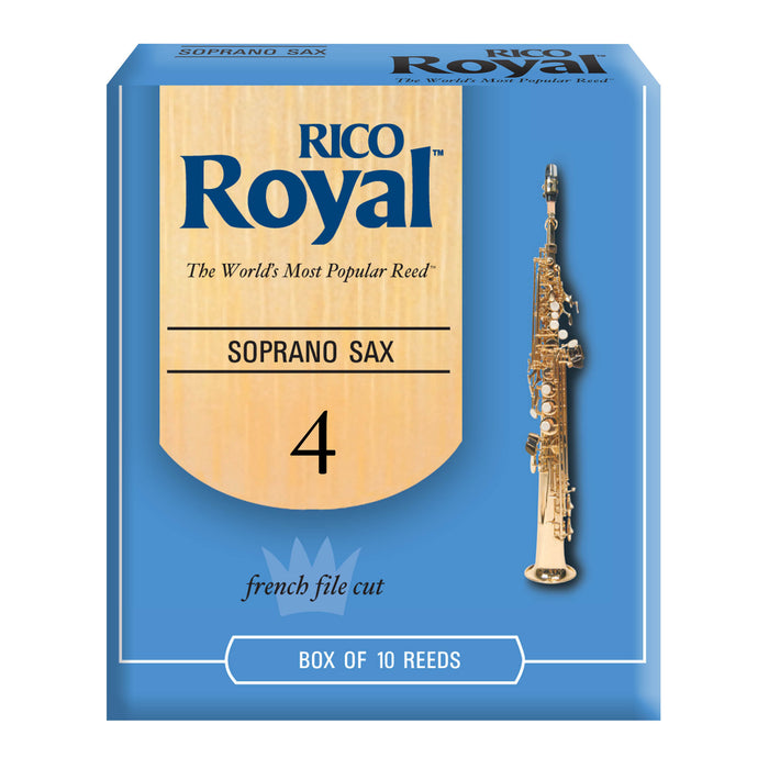 Rico Royal Soprano Saxophone Reeds, 10-pack - Octave Music Store - 7
