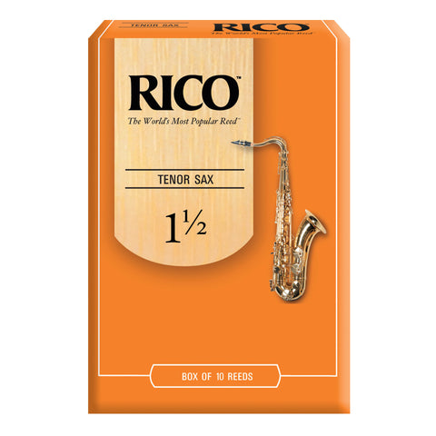 Rico Tenor Saxophone Reeds, Box of 10 - Octave Music Store - 1