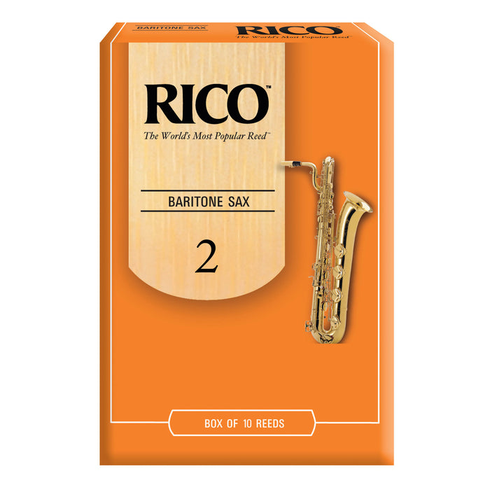 Rico Baritone Saxophone Reeds, Box of 10 - Octave Music Store - 2