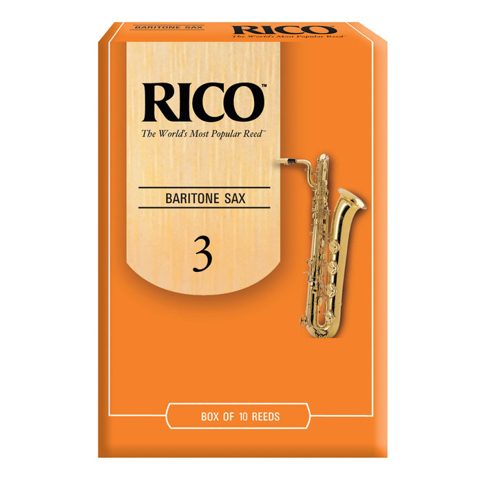 Rico Baritone Saxophone Reeds, Box of 10 - Octave Music Store - 4