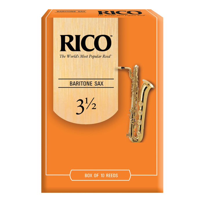 Rico Baritone Saxophone Reeds, Box of 10 - Octave Music Store - 5