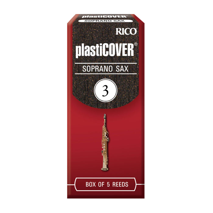 Rico Plasticover Soprano Saxophone Reeds, 5-pack - Octave Music Store - 4