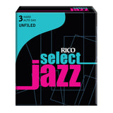 Rico Select Jazz Alto Sax Reeds, Unfiled, 10-pack - Octave Music Store - 4