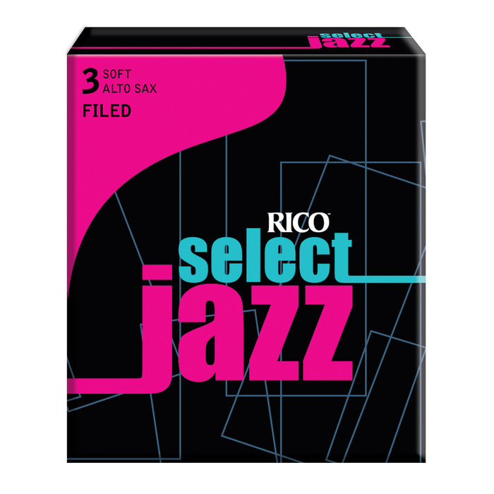 Rico Select Jazz Alto Sax Reeds, Filed, 10-pack - Octave Music Store - 6