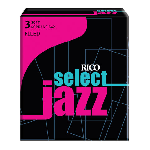 Rico Select Jazz Soprano Sax Reeds, Filed, 10-pack - Octave Music Store - 4