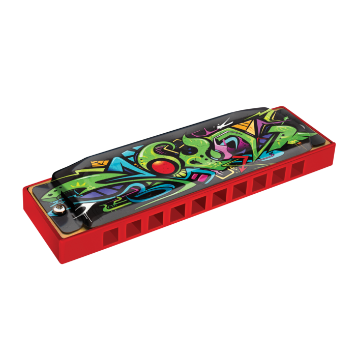 Hohner Red Dragon Tagged Harmonica - Octave Music Store - 1