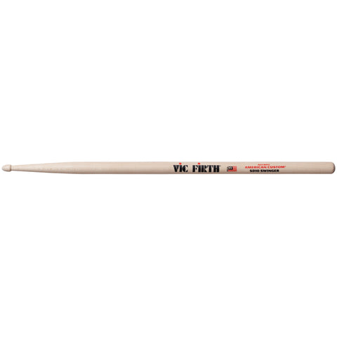 Vic Firth American Custom SD10 Drumsticks - Swinger - Octave Music Store