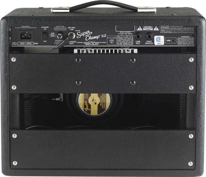 Fender Super Champ X2 Combo Guitar Amp - Octave Music Store - 3