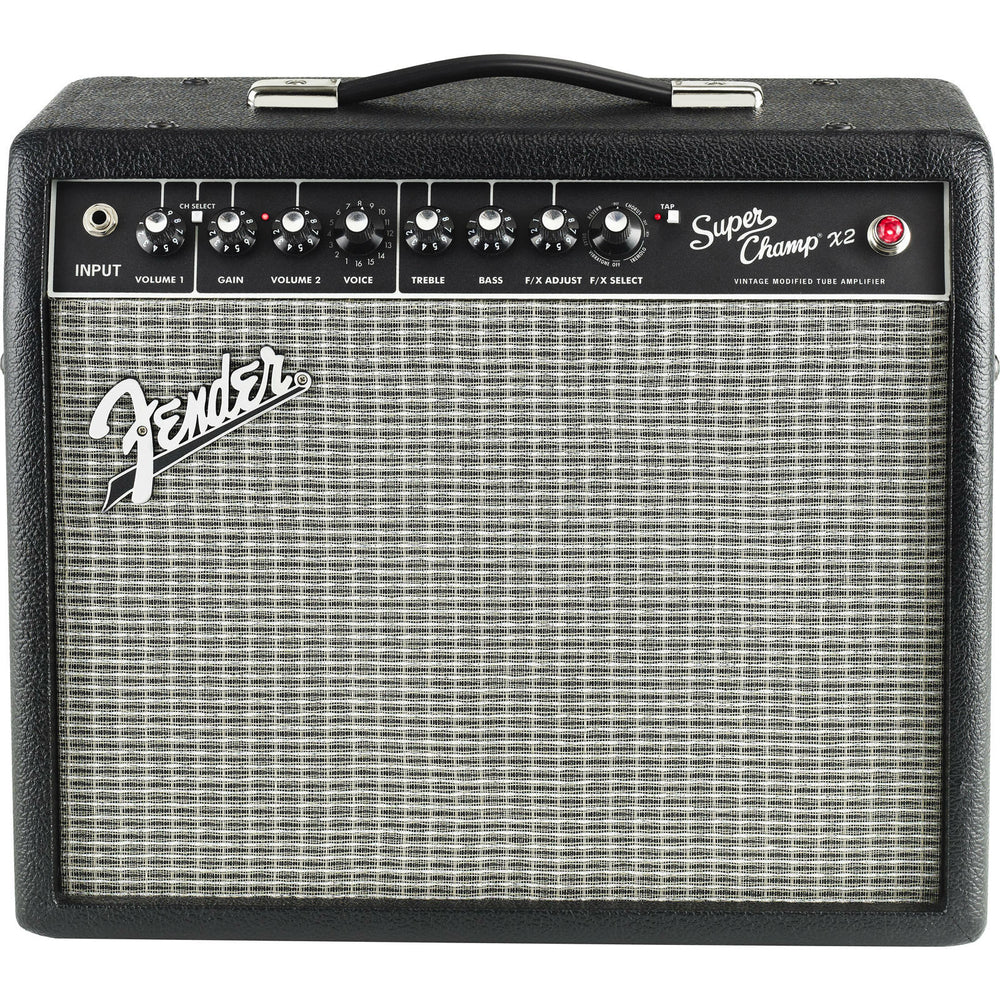 Fender Super Champ X2 Combo Guitar Amp - Octave Music Store - 1