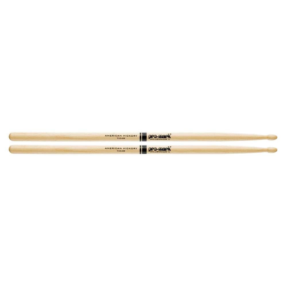 Pro Mark Hickory Drumsticks 5A Wood Tip - Octave Music Store