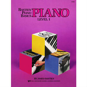 Bastien Piano Basics - Piano Level 1 - Octave Music Store