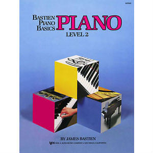 Bastien Piano Basics - Piano Level 2 - Octave Music Store