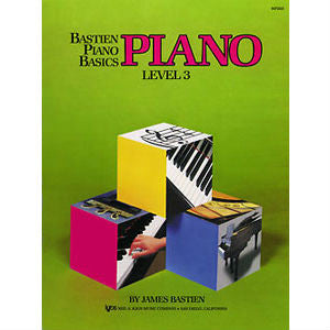 Bastien Piano Basics: Piano Level 3 - Octave Music Store