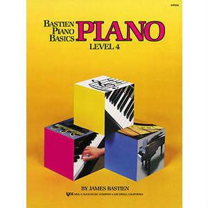 Bastien Piano Basics: Piano Level 4 - Octave Music Store