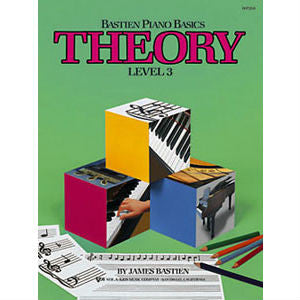 Bastien Piano Basics: Theory Level 3 - Octave Music Store