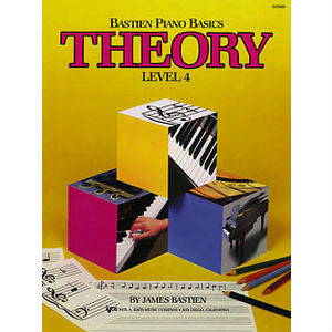 Bastien Piano Basics: Theory Level 4 - Octave Music Store