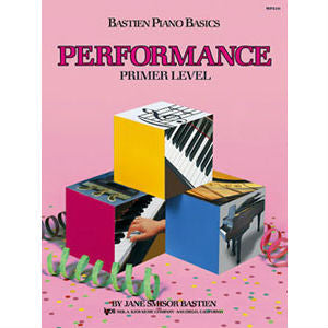 Bastien Piano Basics - Performance Primer Level - Octave Music Store