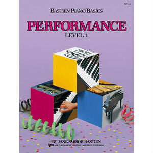 Bastien Piano Basics - Performance Level 1 - Octave Music Store