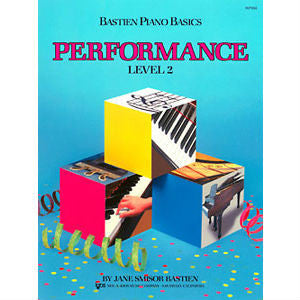 Bastien Piano Basics - Performance Level 2 - Octave Music Store