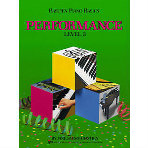 Bastien Piano Basics: Performance Level 3 - Octave Music Store