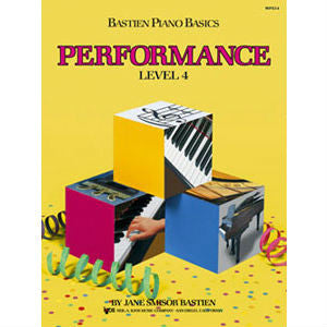 Bastien Piano Basics: Performance Level 4 - Octave Music Store