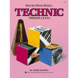 Bastien Piano Basics - Technic Primer Level - Octave Music Store
