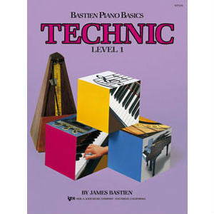 Bastien Piano Basics - Technic Level 1 - Octave Music Store