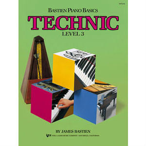 Bastien Piano Basics: Technic Level 3 - Octave Music Store