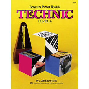 Bastien Piano Basics: Technic Level 4 - Octave Music Store