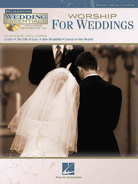 Worship For Weddings For Piano, Vocal, Guitar (Includes Reference CD)