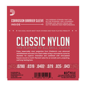 D'Addario EJ27N Nylon Guitar Strings