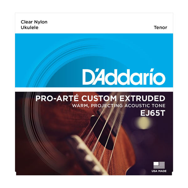 D'Addario Pro-Arte Custom Extruded Tenor Ukulele Strings - EJ65T - Octave Music Store - 1