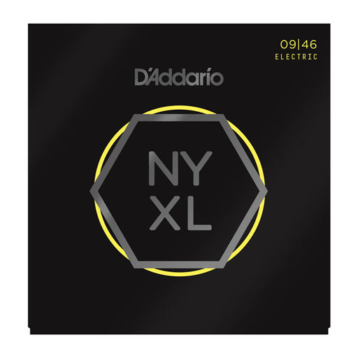 D'Addario NYXL0946 - NYXL Electric Guitar Set, Super Light Top/Regular Bottom, 09-46 - Octave Music Store - 1