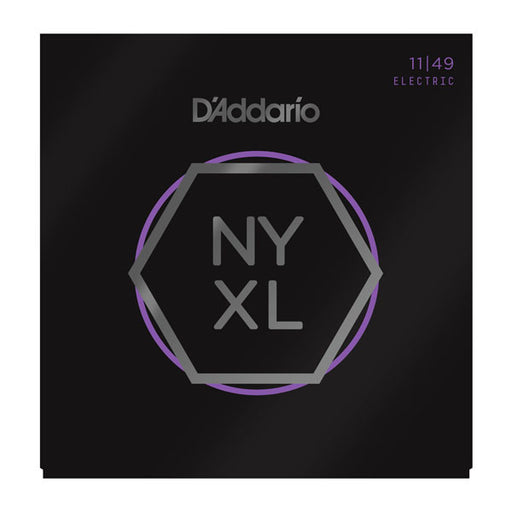 D'Addario NYXL1149 - NYXL Electric Guitar Set, Medium, 11-49 - Octave Music Store - 1