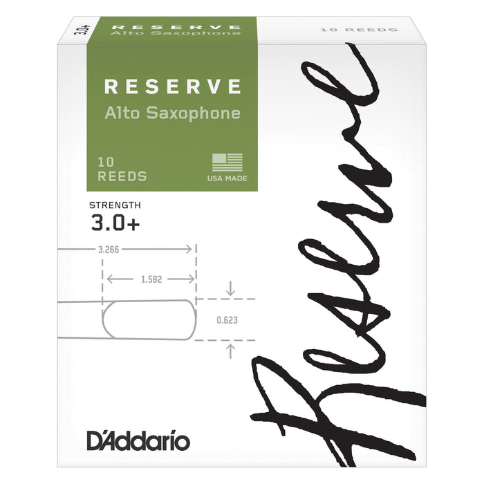 D'Addario Reserve Alto Saxophone Reeds 10-pack - Octave Music Store - 5