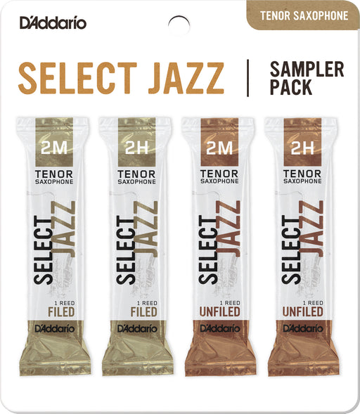 D'Addario Tenor Saxophone Select Jazz Sampler Pack